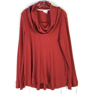 Meadow Rue Anthropologie Cowl Tunic Top #522